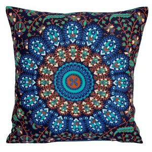 Indian Cotton Cushion Cover Hippie Mandala Bohemian Pillow Case Cover Throw 16""