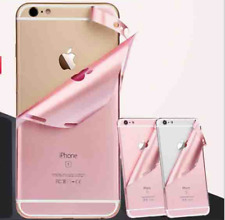 iPhone Metallic Pink Rose Gold Full Body 360 Vinyl Skin Sticker Skin Wrap Cover