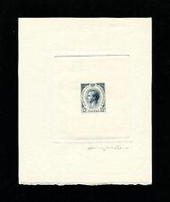 Monaco 1955 Prince Rainier Scott 337 Signed Sunken Die Artist Proof in Grey