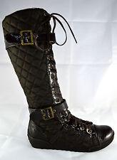 Damen Schuhe Stiefeletten Boots Stiefel Herbststiefel Gr.36-41 Braun A.6026