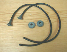 1955 CHEVY WINDSHIELD WINDOW DRAIN GUTTER TUBES SEALS & GROMMETS ** USA MADE **