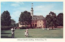 531-B Southern Virginia in the 1950's - Lot of 19 early chrome post cards