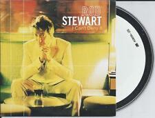 ROD STEWART - I can't deny it CD SINGLE 2TR EU CARDSLEEVE 2001 RARE!!