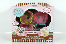 Girl Gourmet - CUPCAKE SHAPES - BRAND NEW