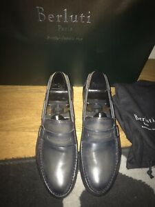 BERLUTI SIZE 8 Uk/42it/9us Men's Slip On Shoes  RRP £950