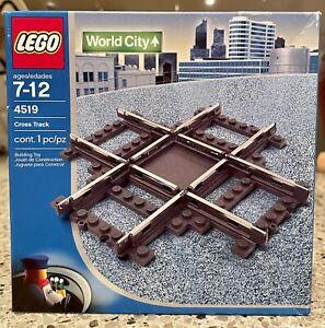 LEGO Trains Rail Crossing (4519) Brand New Very Rare