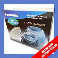 Panasonic 360º Ceramic Cordless Freestyle Iron (Charcoal) - New