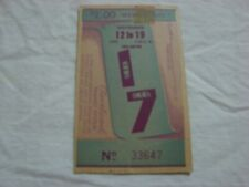1950 Cleveland Transit System Trolley Car Ticket