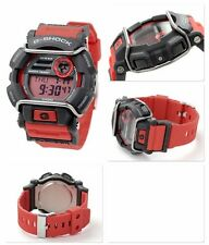 GD-400-4D Red G-Shock 200m Digital Resin Band 200m Casio Sport Men's New