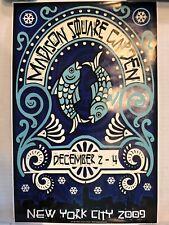 Phish Poster Art MSG 2009