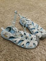 KEEN Blue Gray Trail Hiking Waterproof Sport Sandals Women's US 9