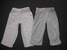 Burt's Bees Baby Boys Girls Unisex Gender Neutral PREEMIE Gray Pants Lot Reborn
