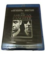 AMERICAN GANGSTER - Denzel Washington, Russell Crowe, NEW BLUE BLU RAY!