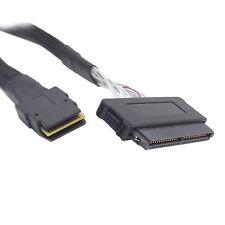 100cm SFF-8484 SAS 32Pin 4i to SFF-8087 Mini SAS 4i 36Pin Cable