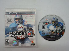 Madden NFL Football  25 (Playstation 3) Game - Good - Complete - PS3