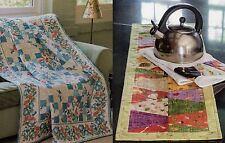 Hummingbird Trail  &  In & Out Kitchen Runner      Quilt Pattern Only