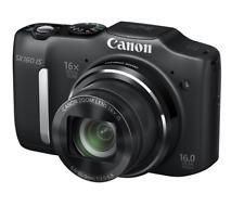 Canon PowerShot SX160 IS 16.0MP Digital Camera Black HDMI
