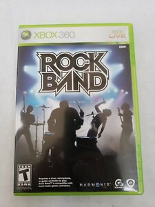 Xbox 360 Rock Band - Game Only FAST SHIPPING Rockband