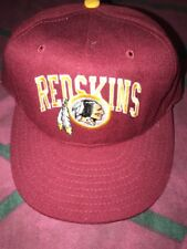 Vintage Washington Redskins SnapBack Hat Cap 90s  Annco Arch Logo USA Made