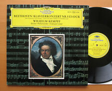 SLPM 138 777 Beethoven Piano Concerto no. 5 Kempff Leitner NM/EX Stereo Italy