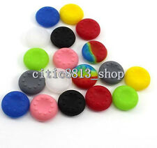 10xSilicone Analog Controller Thumb Stick Grip Cap Cover fr PS2/3/4 Xbox 360/ONE