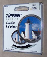 Genuine Tiffen 77MM Circular Polarizer Filter