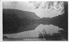 RPPC Water View Scenic New Haven Connecticut Bamforth Real photo 10588