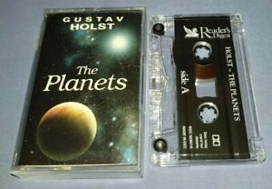 HOLST THE PLANETS WILLIAM BOUGHTON classical music cassette C0177