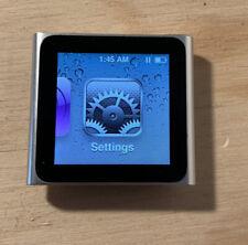 iPod Nano 6th Gen 8Gb Silver - Mc525Ll - With Fitness Arm Strap