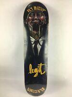 "Legit skateboard deck 7.75""X 31"" quality Gripped FLY RIGHT C2"