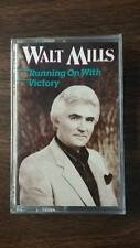 Walk Mills - Running On With Victory - Word - 1990 - Cassette Tape