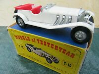 Matchbox Yesteryear No. Y10-2  1928  Mercedes 36 / 220 . White / red seat