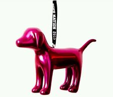 Victoria's Secret PINK Mini Dog Holiday 2015 Christmas Ornament Limited