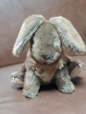 "Gund Brown Bunny Rabbit Stuffed Plush 1985 9"""