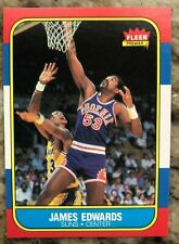 JAMES EDWARDS 1986-87 Fleer #29 - PHOENIX SUNS