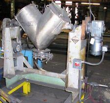 Patterson Kelley 2 Cubic Ft. V Blender Stainless Steel Construction  Item #8673