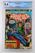 Tomb of Dracula #19 - CGC 9.4 NM - Marvel 1974 - Blade App!