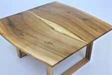 Rustic Coffee Table - Handmade Solid Walnut Wood