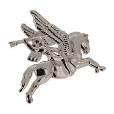 Airborne Pegasus Chrome Lapel Badge