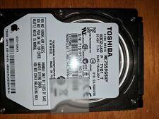 Toshiba MK7575GSX 750GB SATA/300 5400RPM 8MB 2.5 Hard Drive