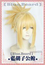 Dr.STONE Kohaku Japan Anime Long Blonde Ponytail Wig Cosplay Wigs Hairpiece