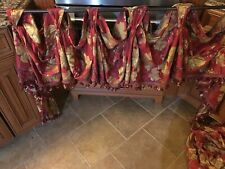 swag valance curtains