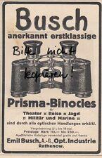RATHENOW, Werbung 1911, Emil Busch AG Optische Industrie Prisma-Binocles