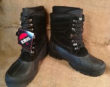 Totes Winter Boots Mens Size 13 Waterproof Black New No Box