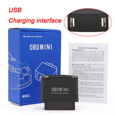 OBD MINI Car SUV Quick Charger 12/24V USB Charging 2 Ports Battery Protection US