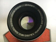 Carl Zeiss PANCOLAR 1.8/50mm MC M42 German Lens Screw Mount