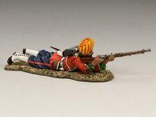 King & Country SOE007 Ludhiana Sikh Rgmt figure lying firing