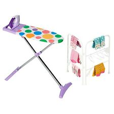 Casdon Toy Ironing Set Inc Ironing Board Iron & Clothes Airer TOY NEW