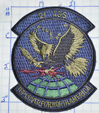 U.S.A.F. AIR FORCE 21 AGS TOP COVER FOR NORTH AMERICA SUBDUED PATCH
