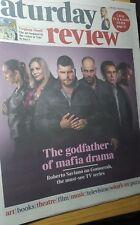 JONAS BLUE. KAYA SCODELARIO. GOMORRAH. UK Times Saturday Review. 27.1.18